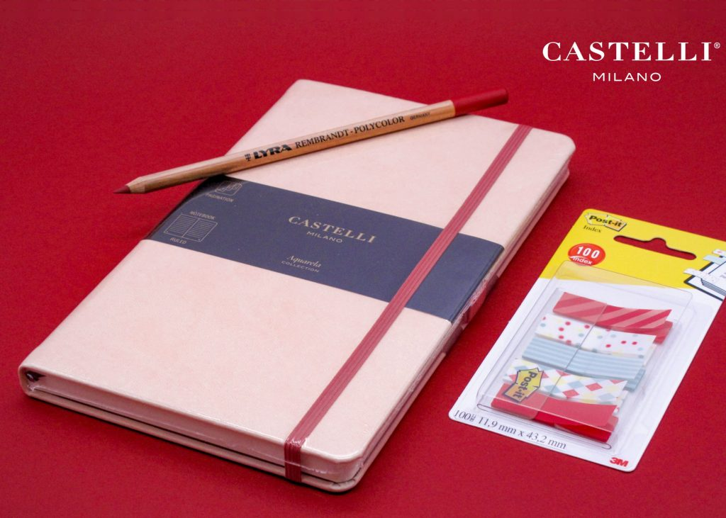 Notebook Aqua Castelli Milano